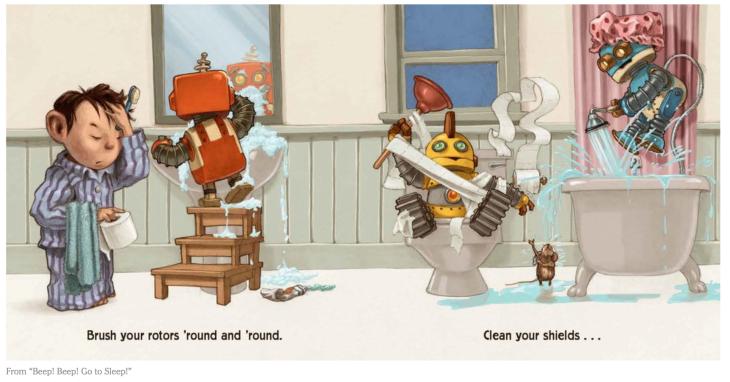 Beep Beep here come the robots